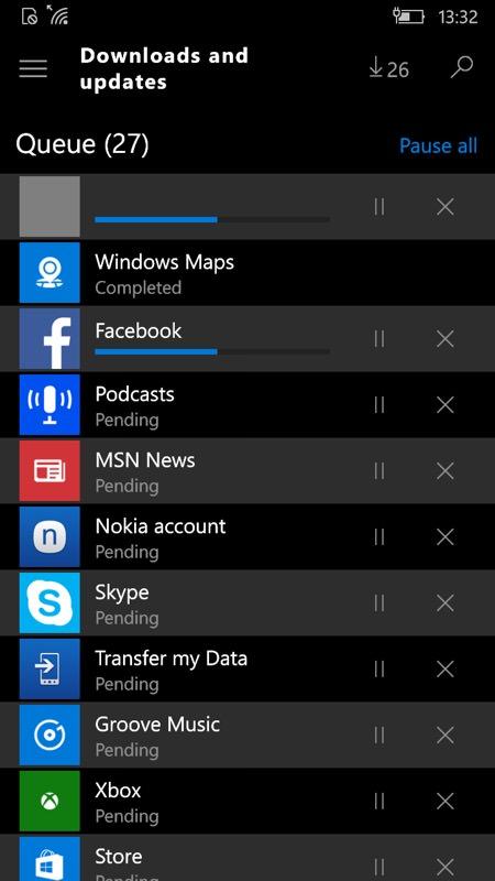 Screenshot, Build 10549
