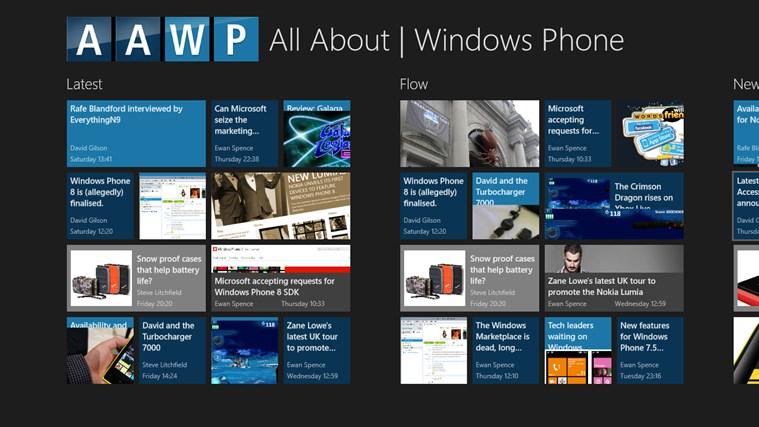 All About Windows Phone Windows 8 App