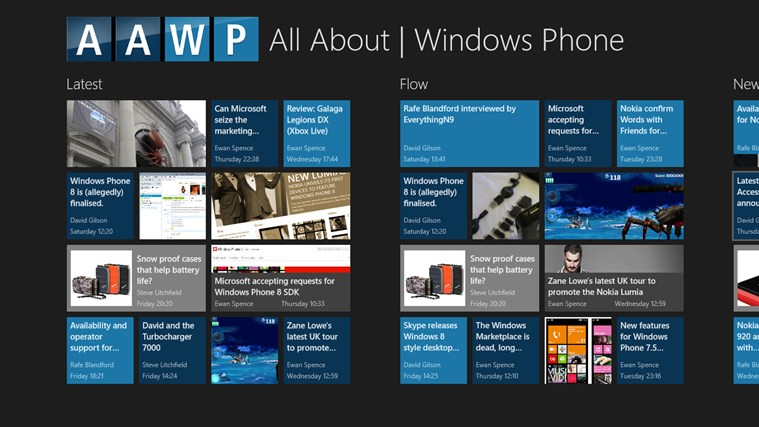 All About Windows Phone Windows 8 App