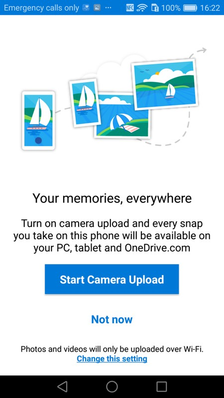 Screenshot, MS Launcher