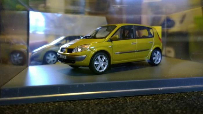 Model car shot/scene