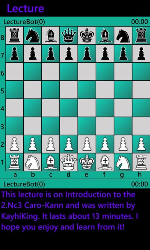 Chess feature screenshot