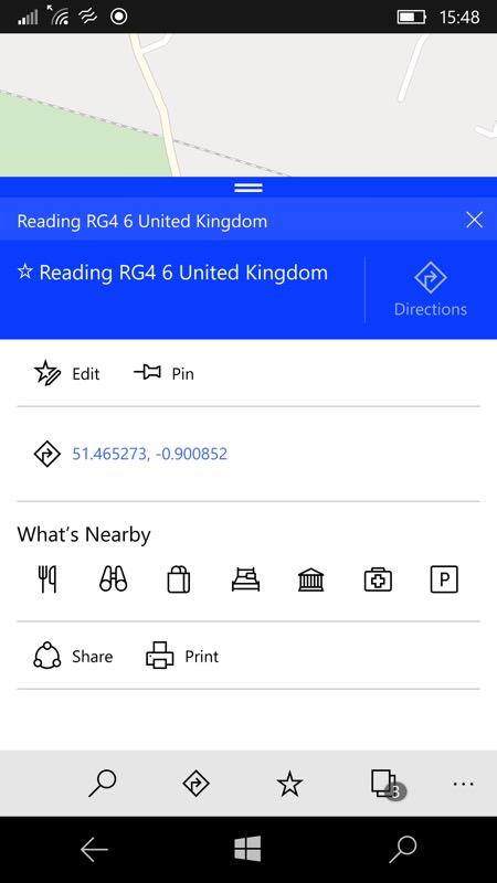 Screenshot, Maps 10 favourites