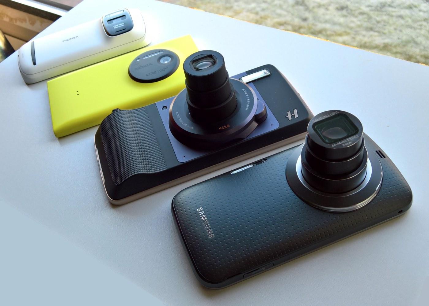 Camera phones compared, Hasselblad mod