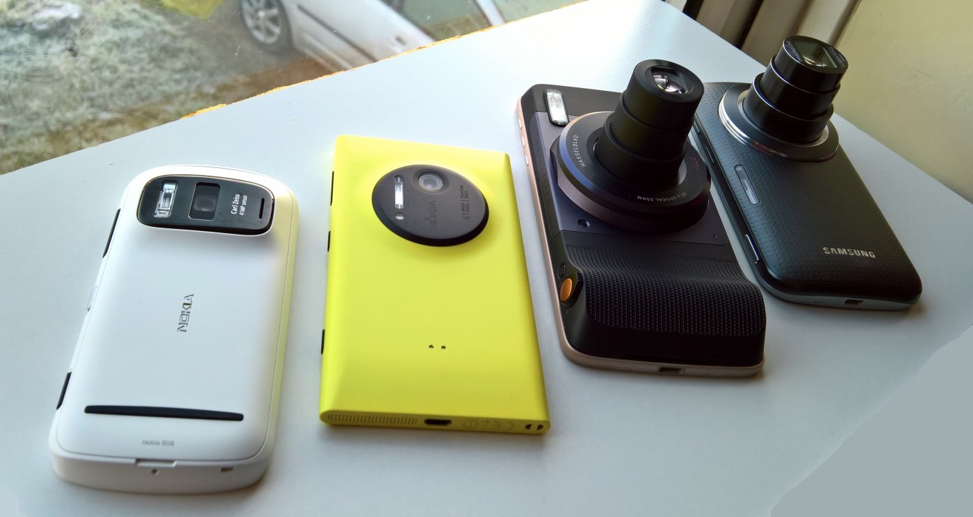 Camera phones compared, Hasselblad mod