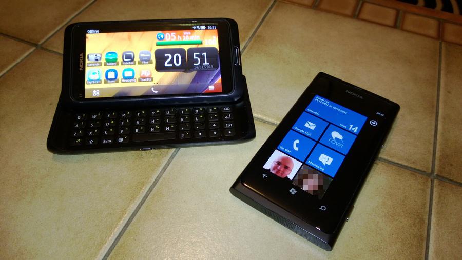 Nokia E7 Lumia 800