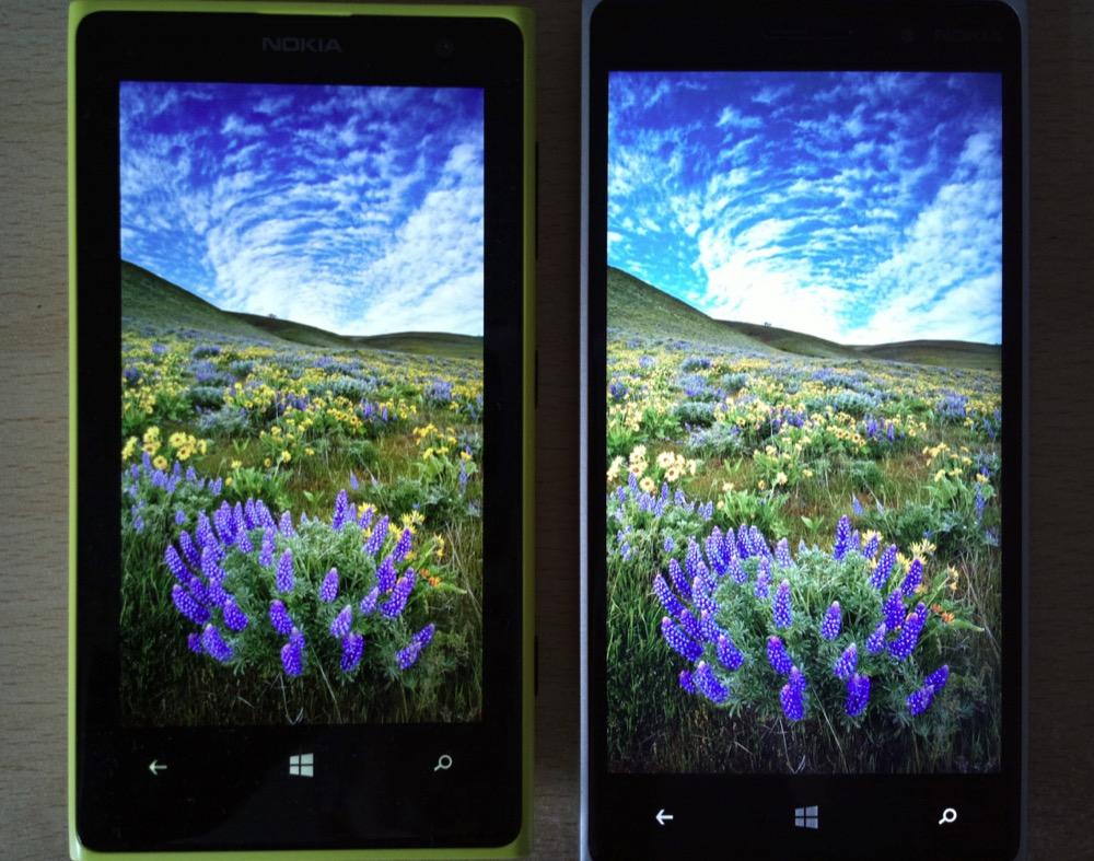 Screen comparison, AMOLED versus LCD