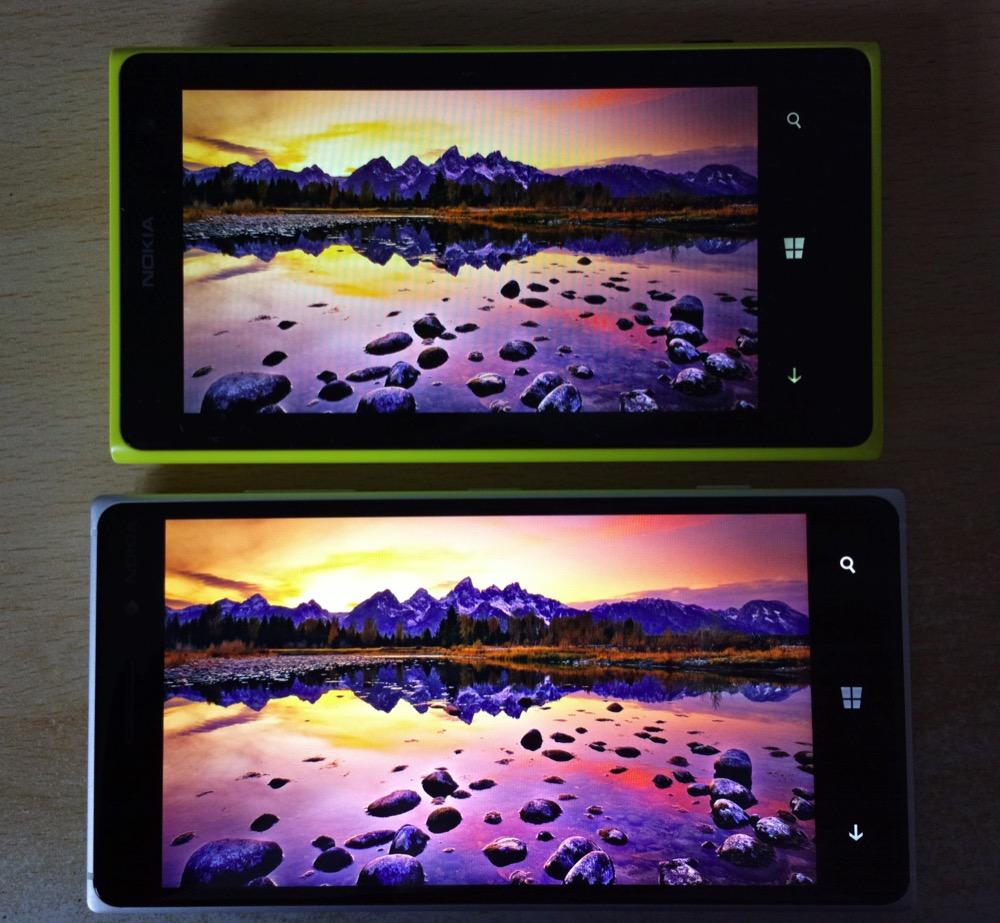 Screen comparison, LCD versus AMOLED