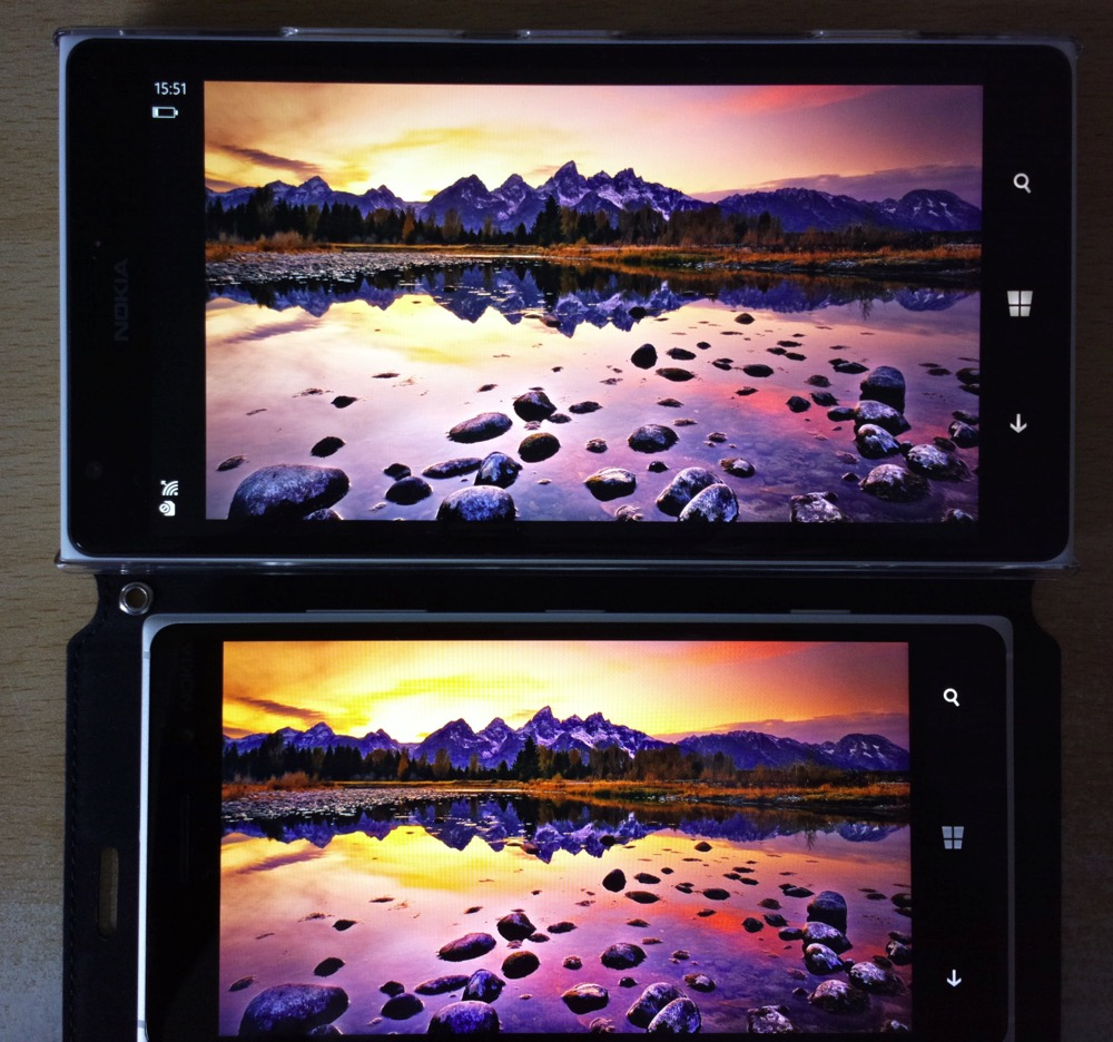 Screen comparison, LCD versus LCD generation