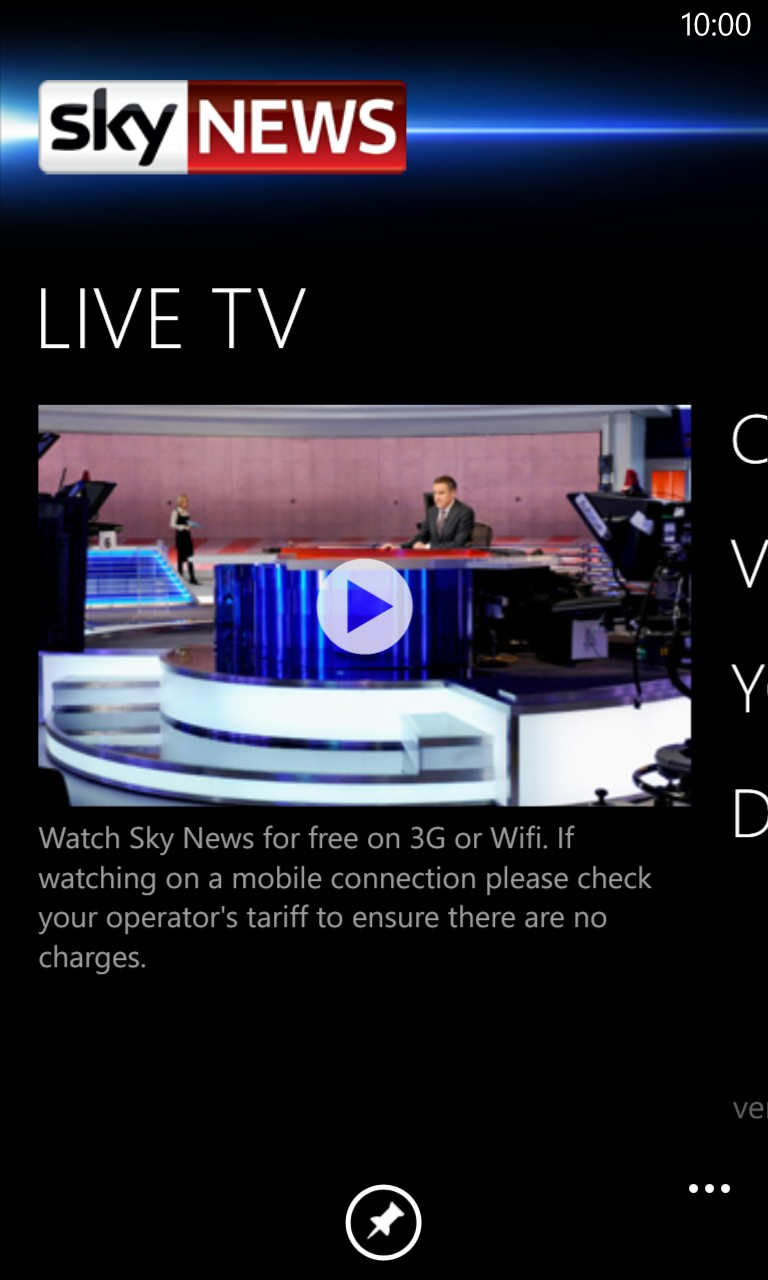 How To Watch Live Tv On Your Windows Phone
