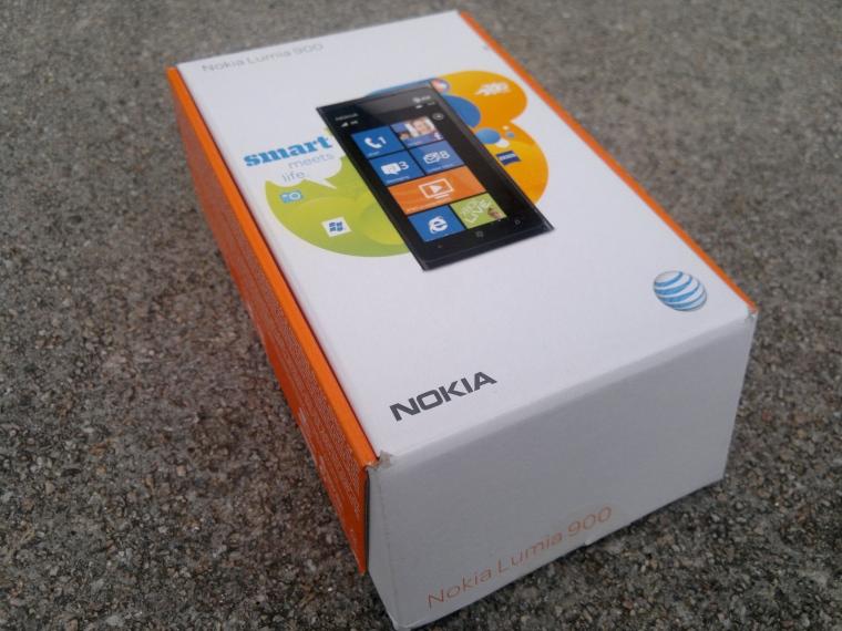 Nokia Lumia 900 on AT&T