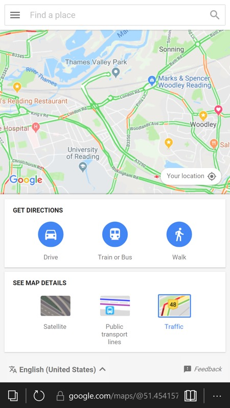 Maps Go PWA