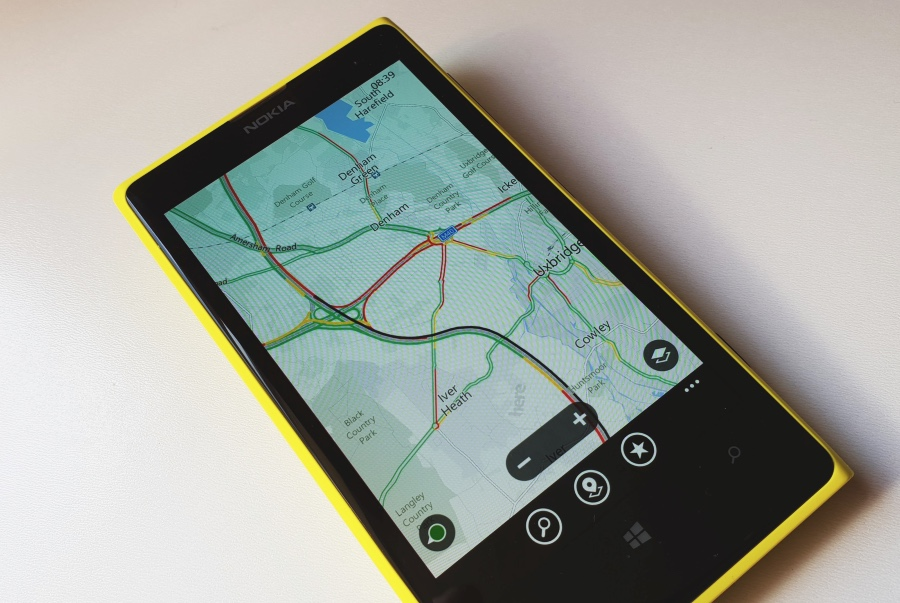 Lumia 1020 with Maps and traffic