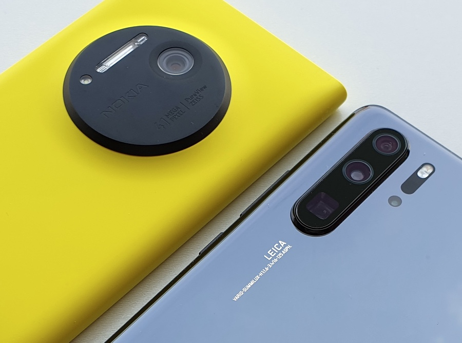 Lumia 1020 and Huawei P30 Pro imaging