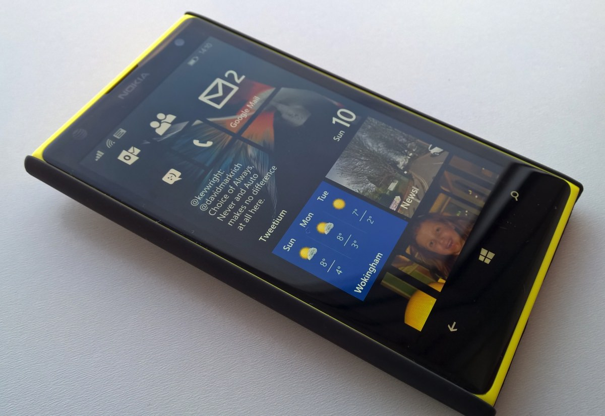 The Lumia 1020, typical in terms of internals with the rest of the Snapdragon S4 generation.