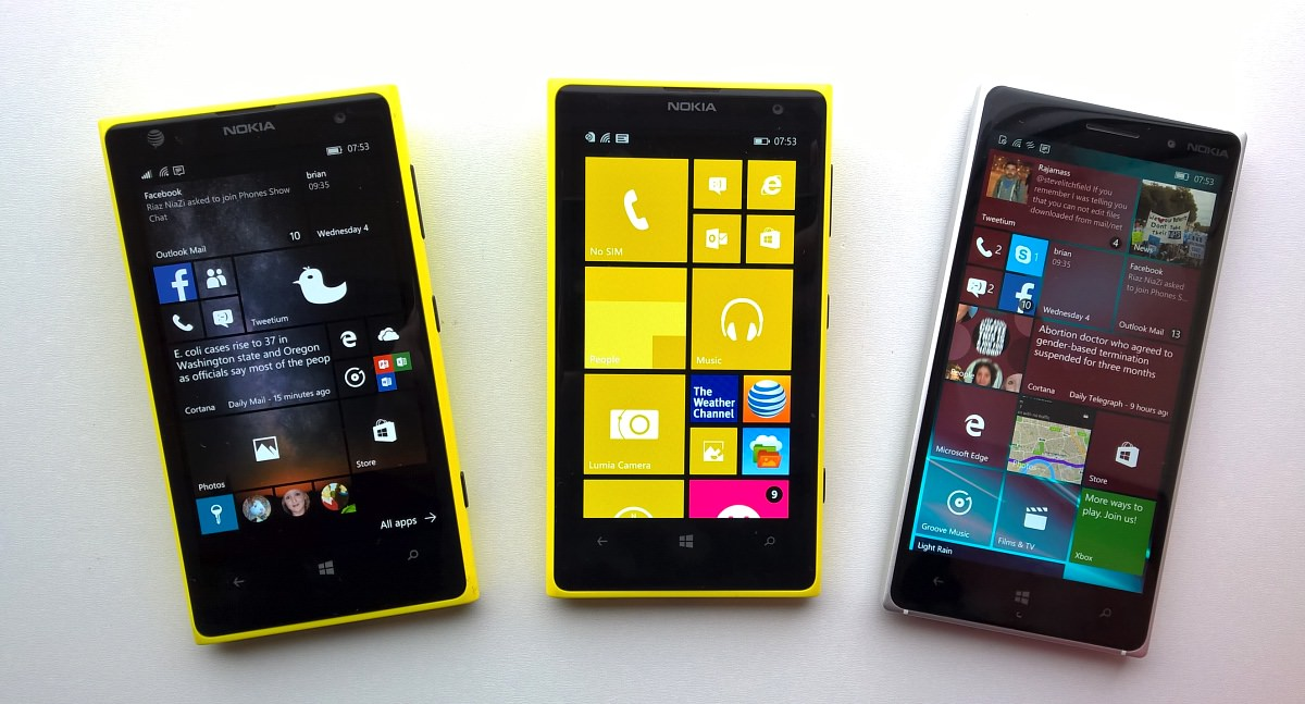 lumia 735 upgrade to windows 10