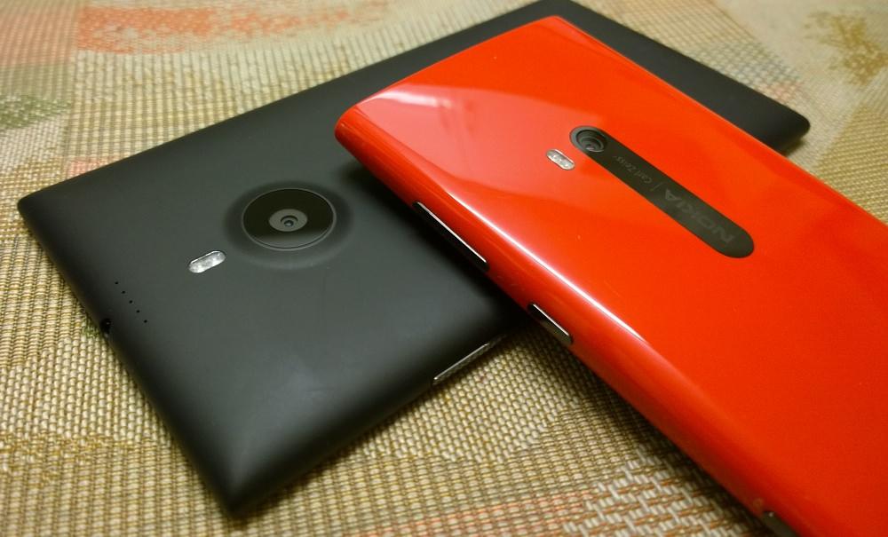 Lumia 1520 and 920