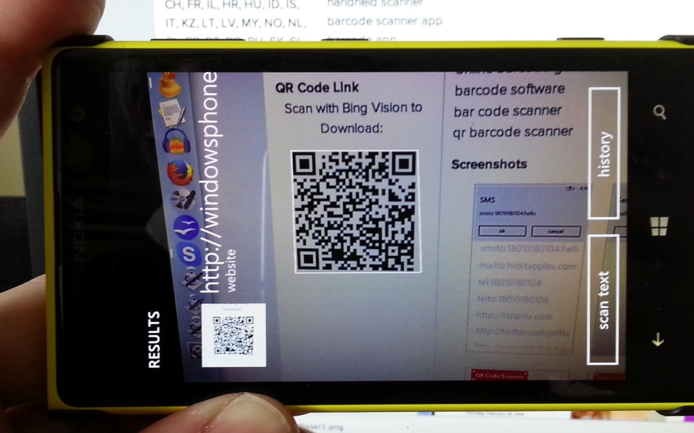 How To Scan Qr Codes Under A Cortana Ed Windows Phone 8 1