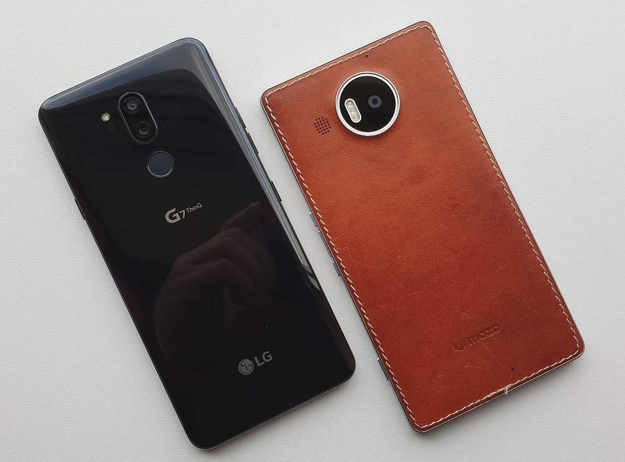 Camera head to head: Lumia 950 XL vs LG G7 ThinQ