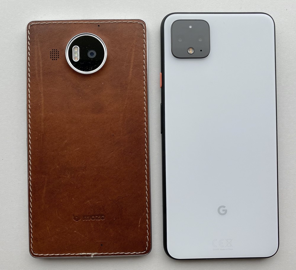 Back, Pixel 4 XL