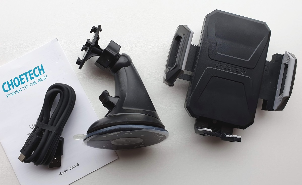 Choetech Fast Wireless Charging Car Dock