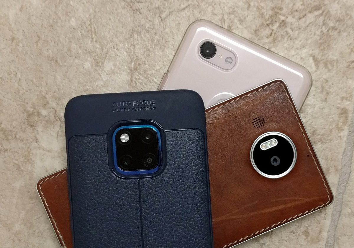 Mate 20 Pro, Pixel 3 XL, Lumia 950 XL