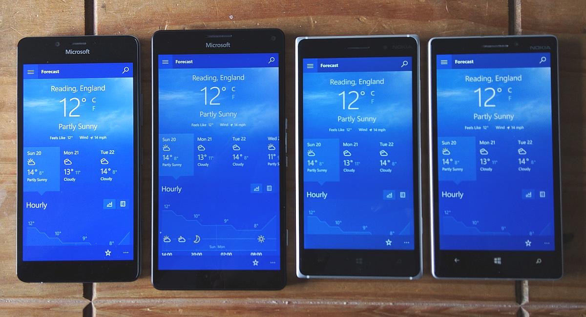 Lumia 950, XL, 830, 930