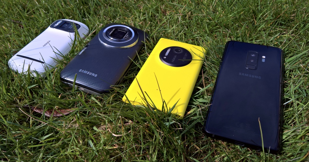 4 zoomtastic phone cameras
