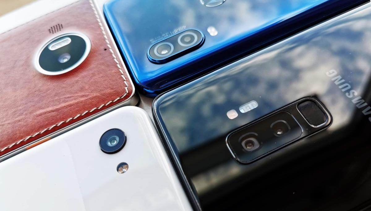 Budget smartphone imaging test