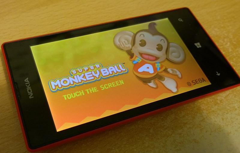 Game on Lumia 520