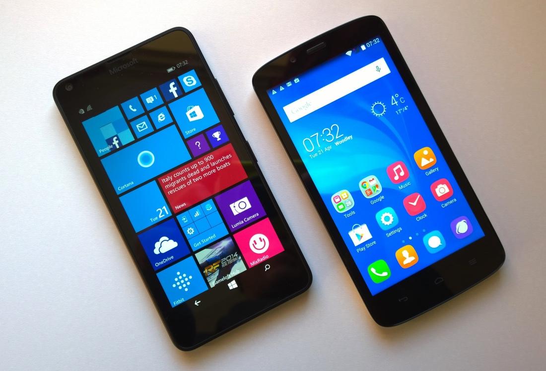 Lumia 640 and Honor Holly
