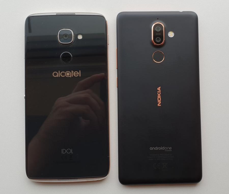 IDOL 4 Pro and Nokia 7 Plus