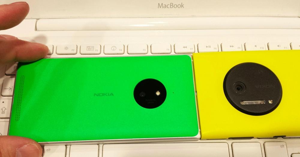 Lumia 830 and 1020