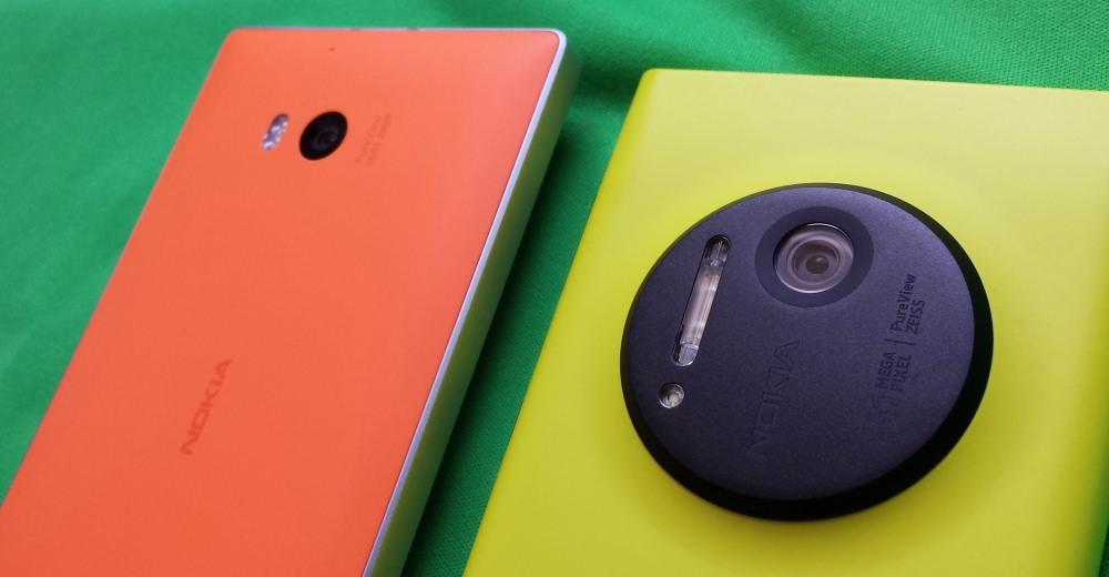 Lumia 930 and 1020