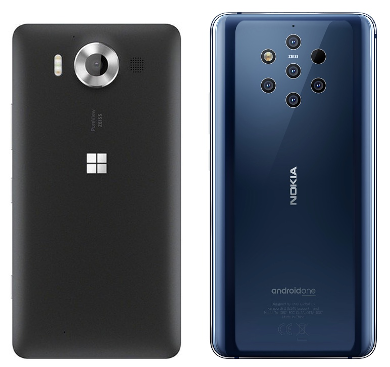 Lumia 950 and Nokia 9