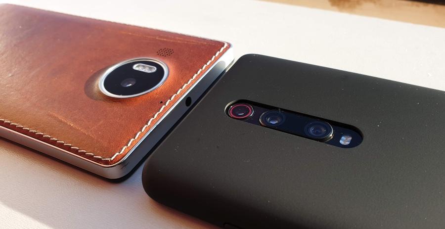 Lumia 950 XL and Mi 9T Pro