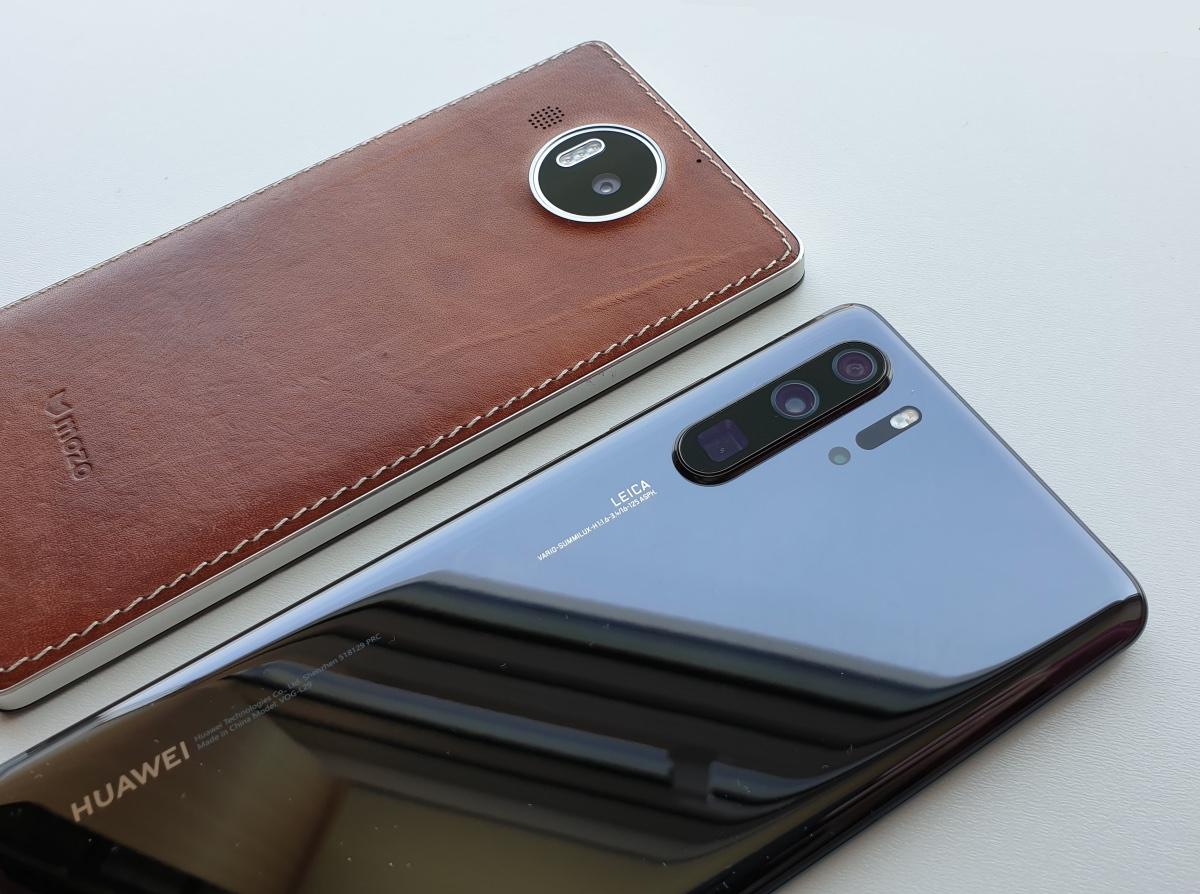 Lumia 950 XL and P30 Pro
