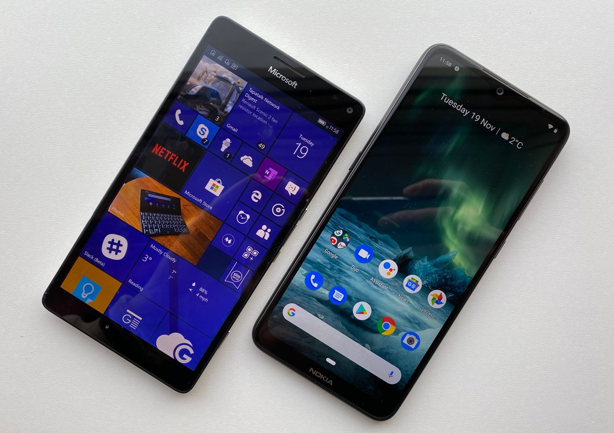 950 XL and Nokia 7.2