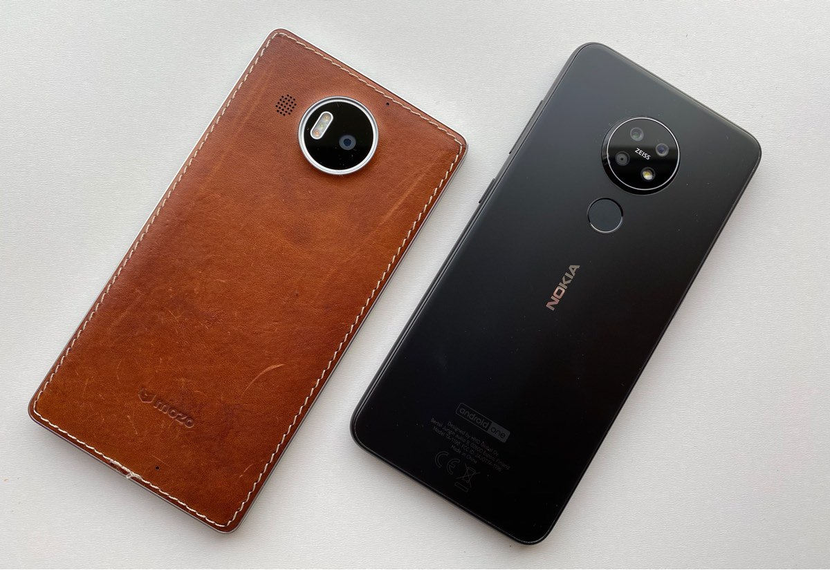 Lumia 950 XL and Nokia 7.2