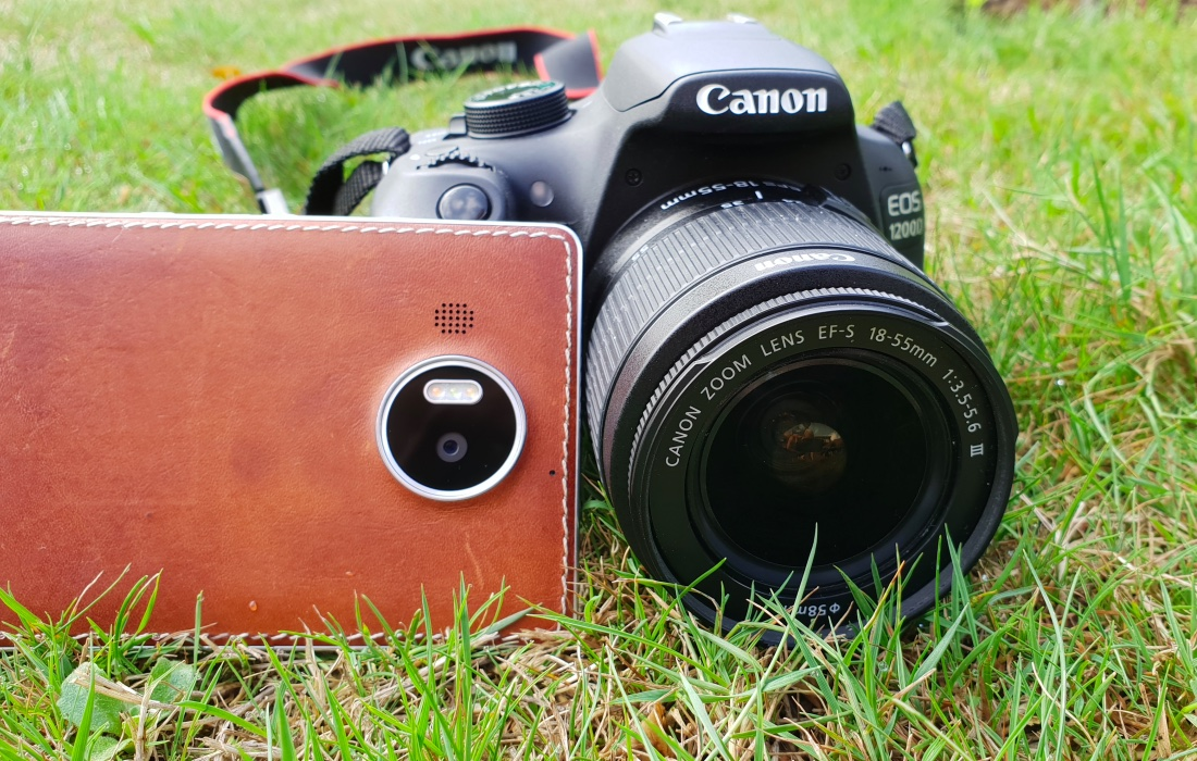 Lumia 950 XL and Canon EOS 1200D