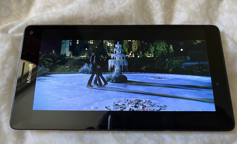 Lumia 950 XL watching Disney+