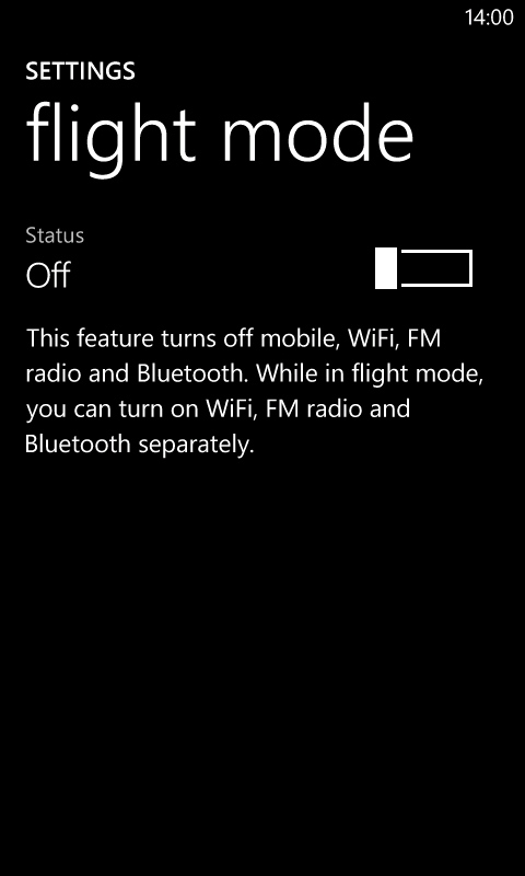 Five things for Windows Phone