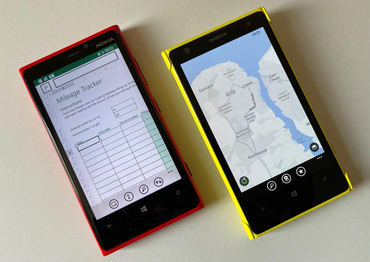 Lumia 920 and Lumia 1020