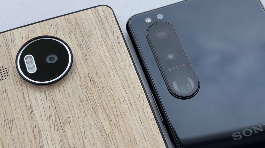 Lumia 950 XL and Sony Xperia 5 iii
