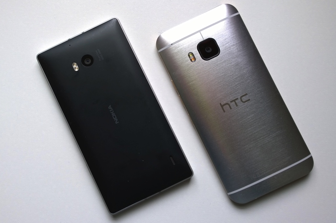 Lumia 930 and HTC One M9