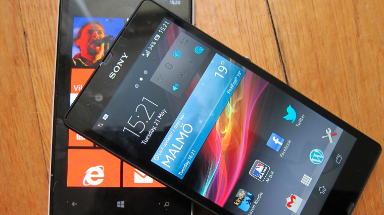 Xperia and Lumia