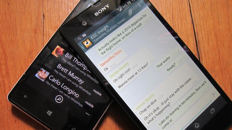 Xperia and Lumia