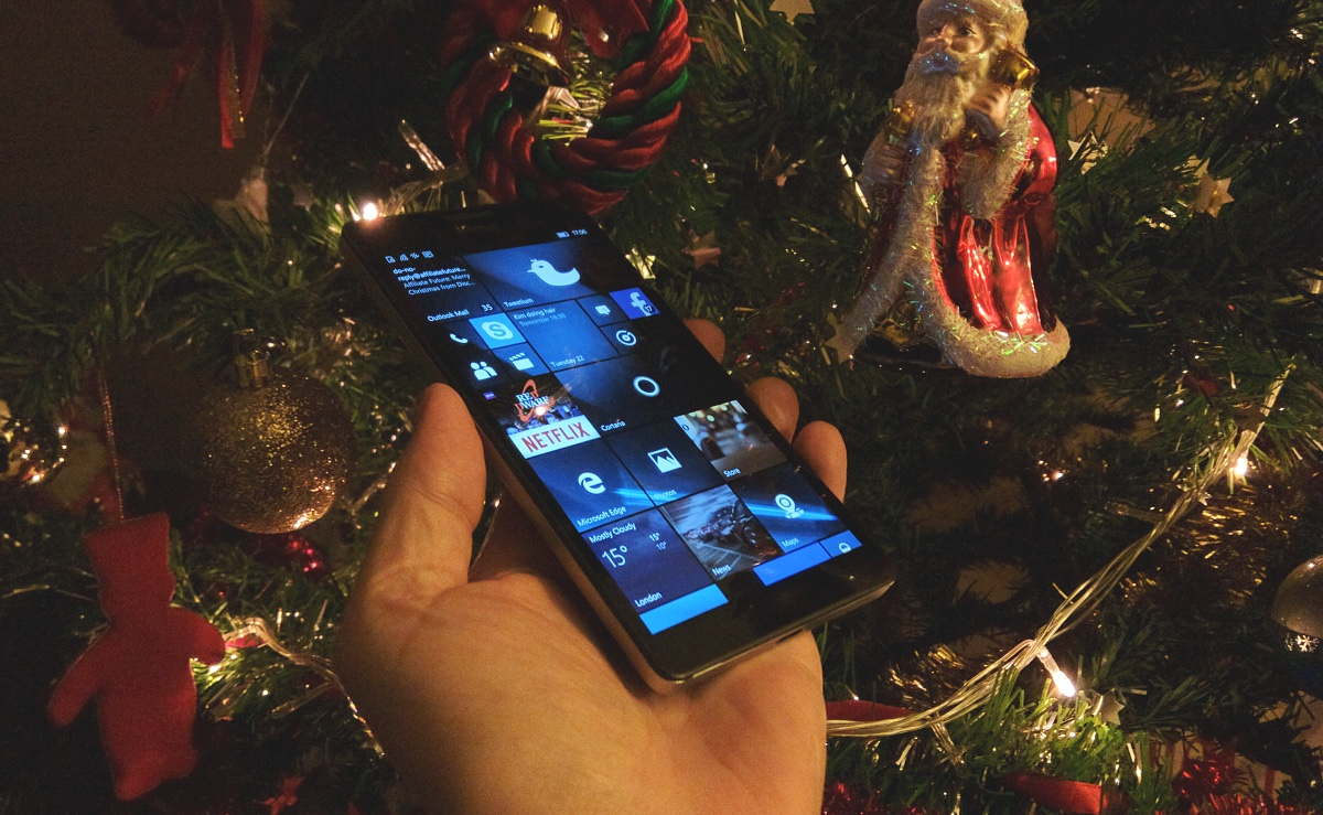 Christmas and the Lumia 950 XL