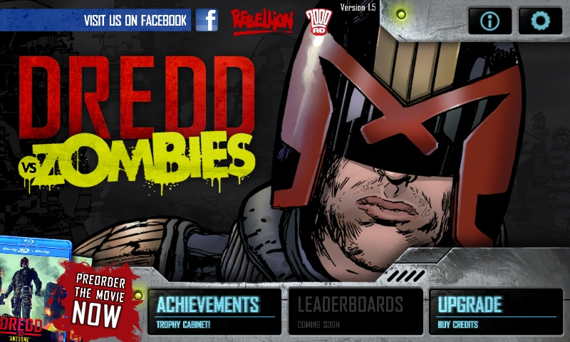 Dredd vs Zombies