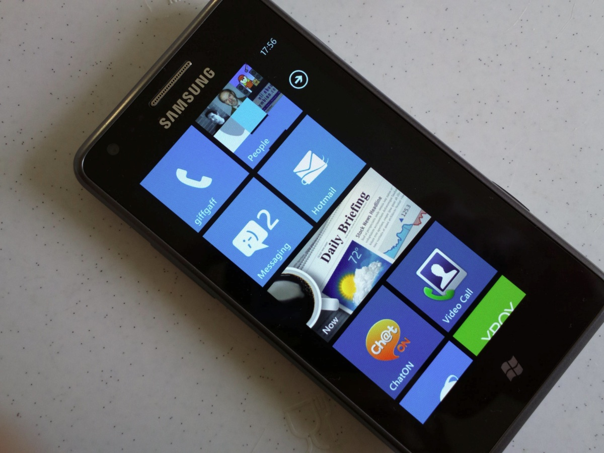 Samsung omnia m review all about windows phone for Windows phone